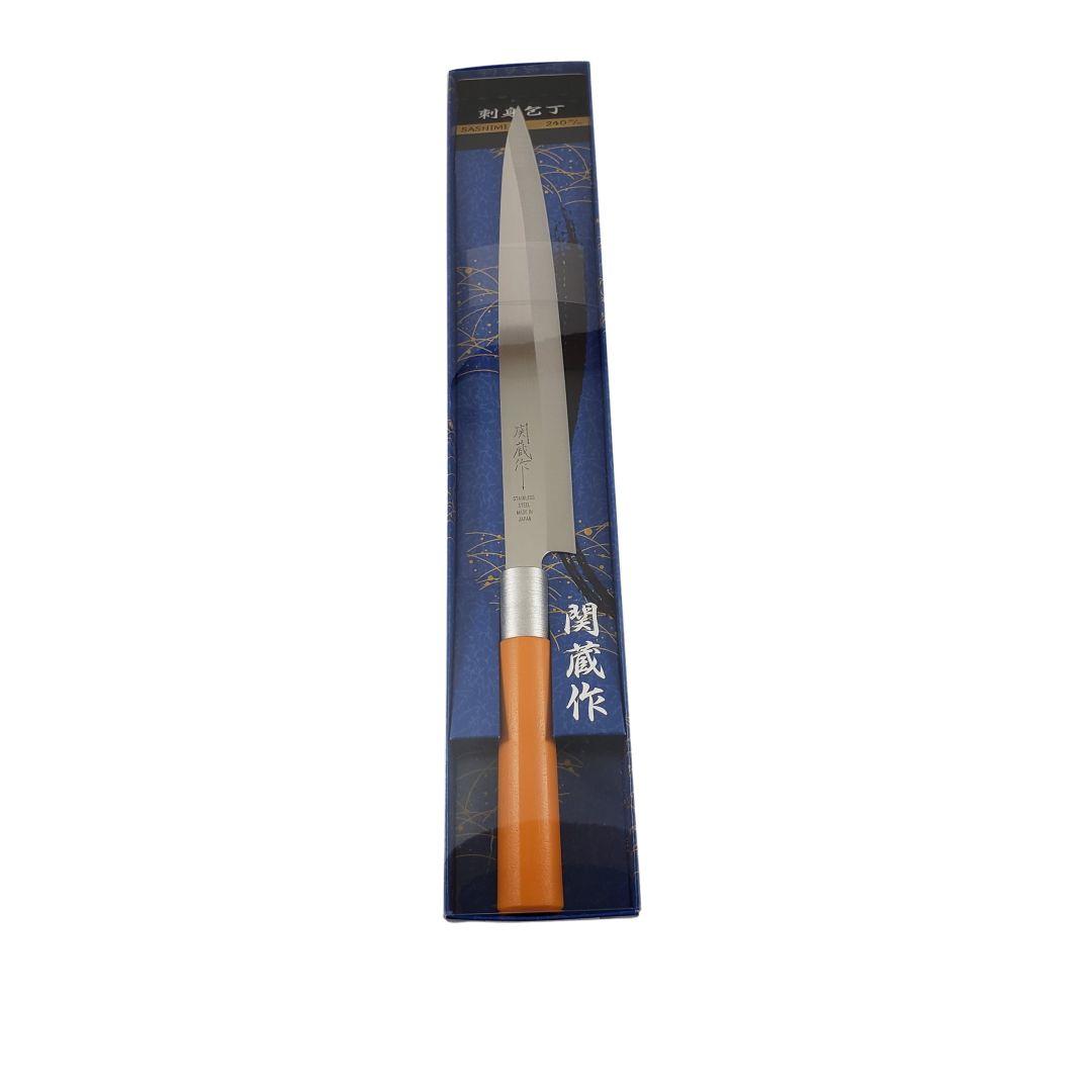 Faca para Sashimi Japonesa Sekizo 240mm