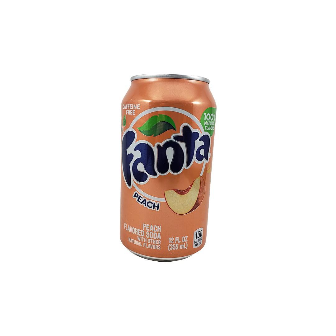 Fanta Peach Pêssego 355ml