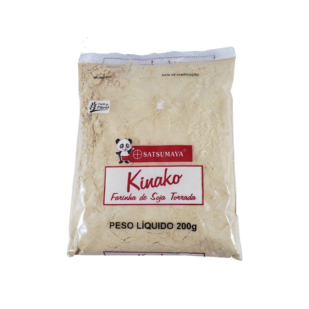 Farinha de Soja Torrada Kinako Satsumaya 200g