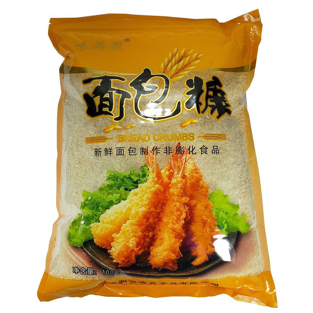 Farinha para Empanar Panko Bread Crumbs Chuzhou Runtai 1Kg