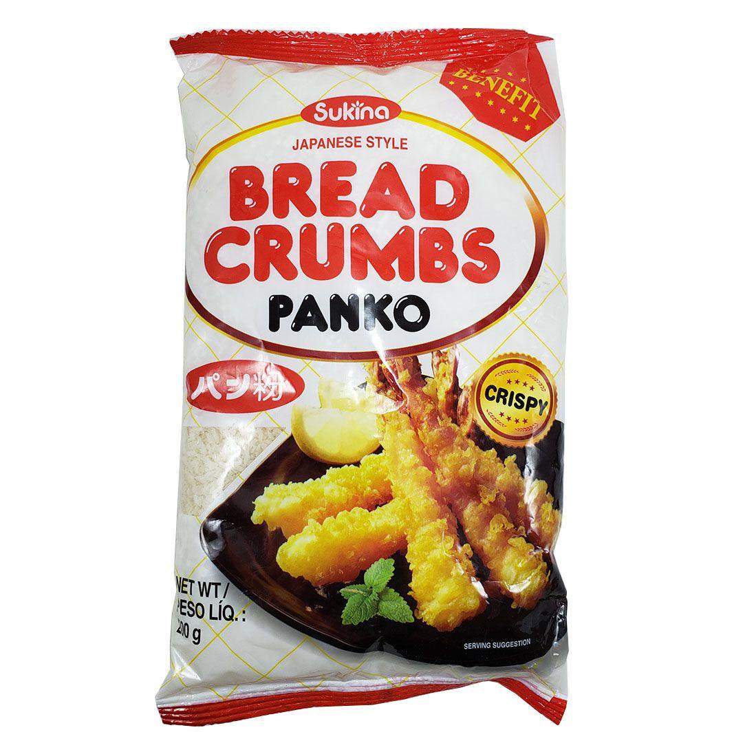 Farinha para Empanar Panko Bread Crumbs Sukina 200g