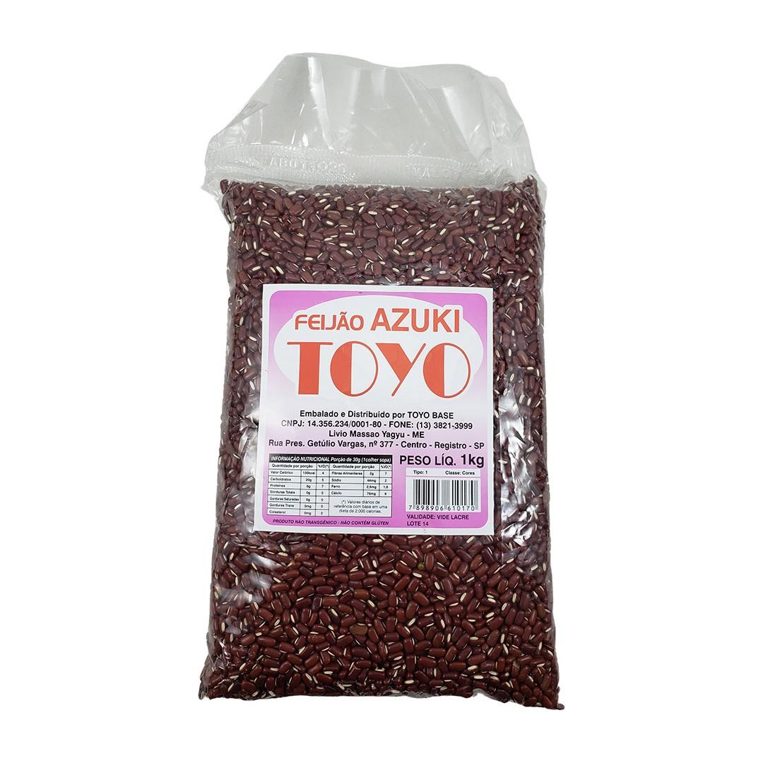 Feijão Azuki Toyo Base 1kg