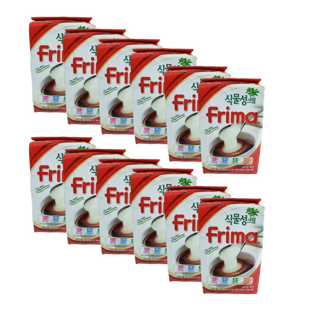 Frima Creme para Café Kit com 12 unidades de 500g
