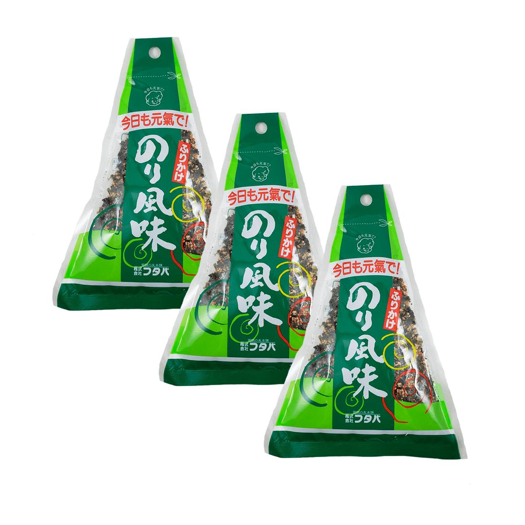 Furikake sabor Alga Nori Futaba 3 pacotes