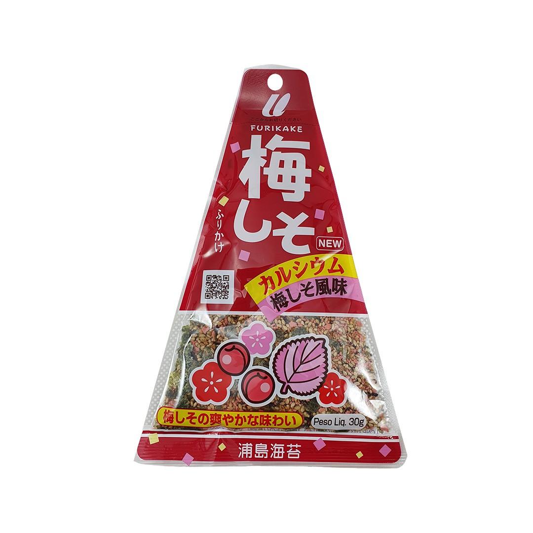 Furikake Tempero Arroz Japonês sabor Ameixa Ume e Shiso Urashima 30g
