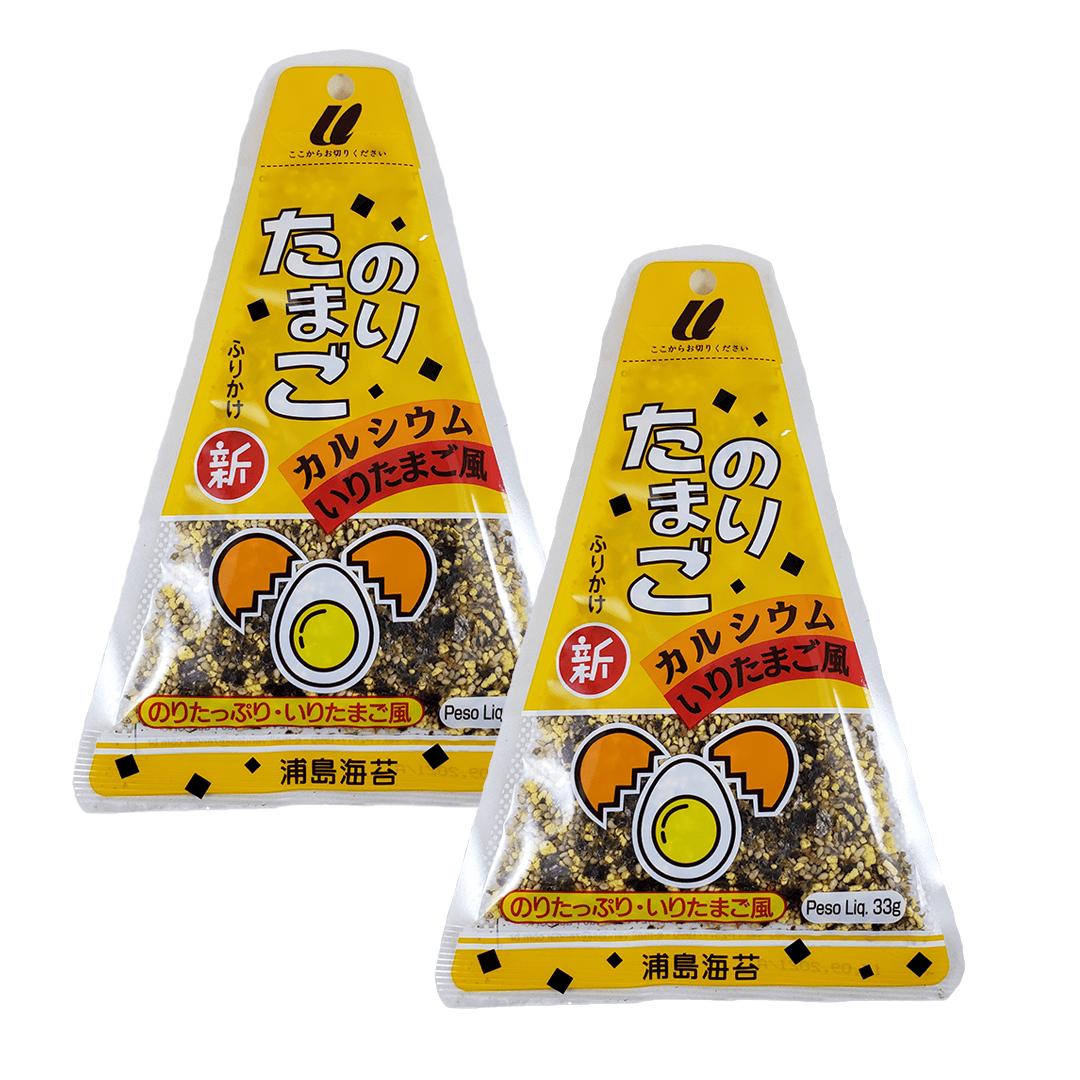 Furikake sabor Ovo e Nori Urashima 2 pacotes