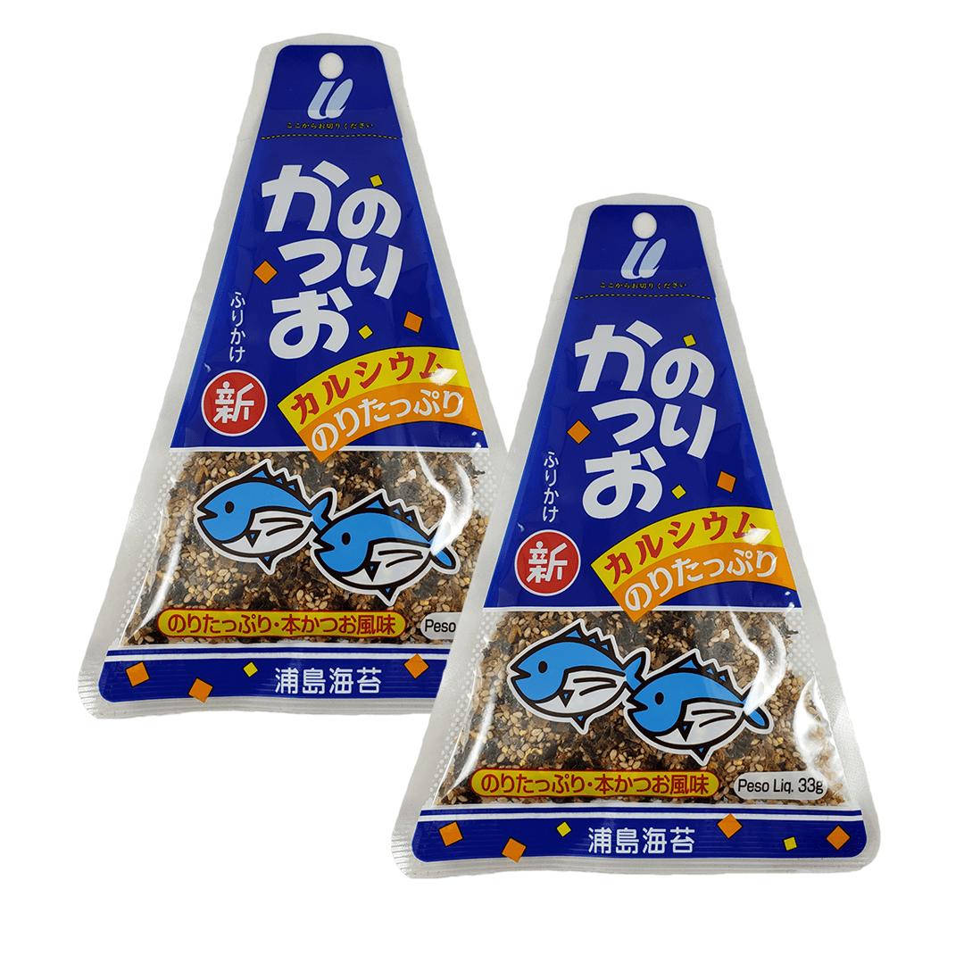Furikake sabor Peixe e Nori Urashima 2 pacotes