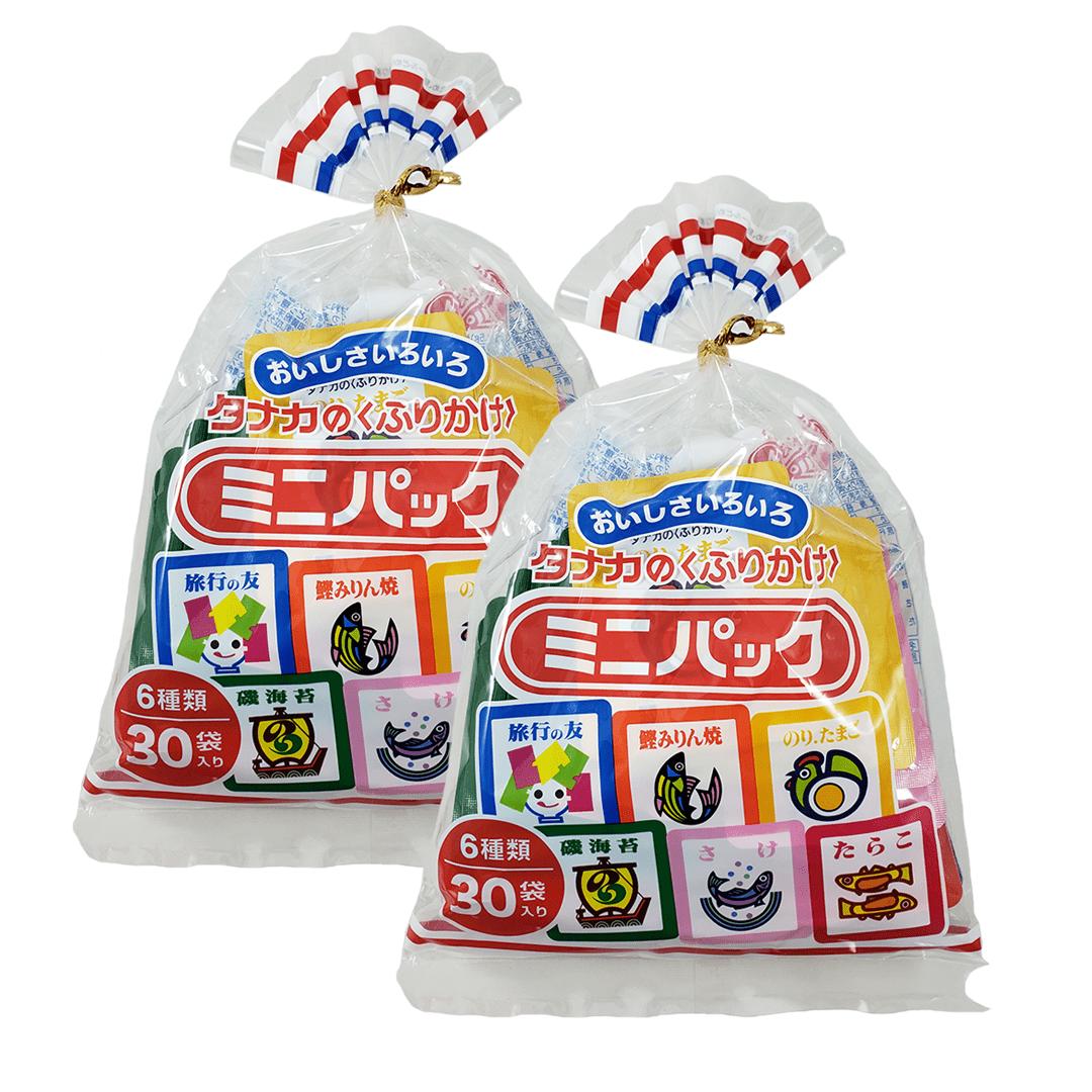 Furikake Sortido 30 Saches Tanaka 2 Pacotes