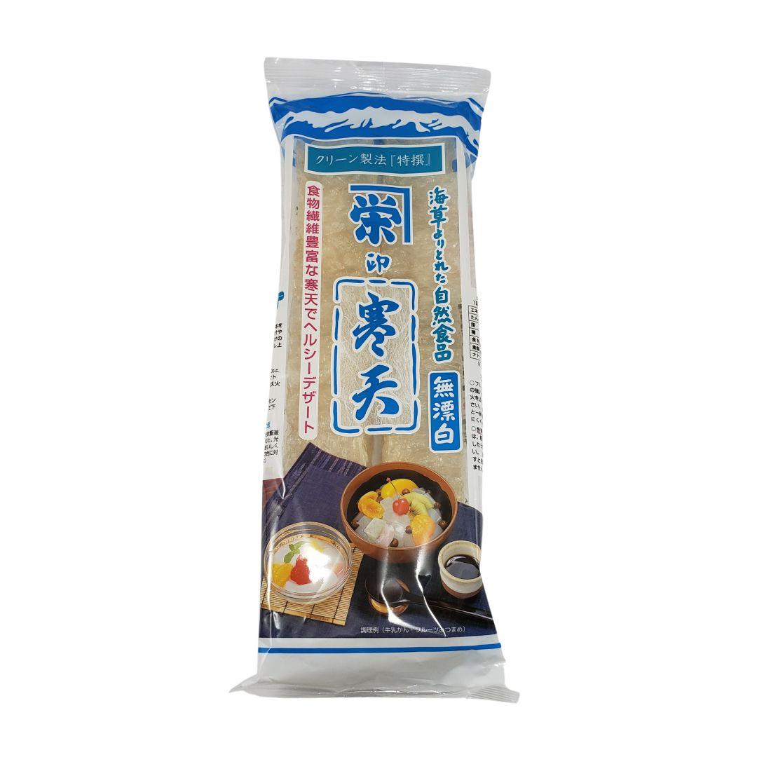 Gelatina de Algas Kanten Agar Agar Branco Japonês Kaneei-Fujimori 17g