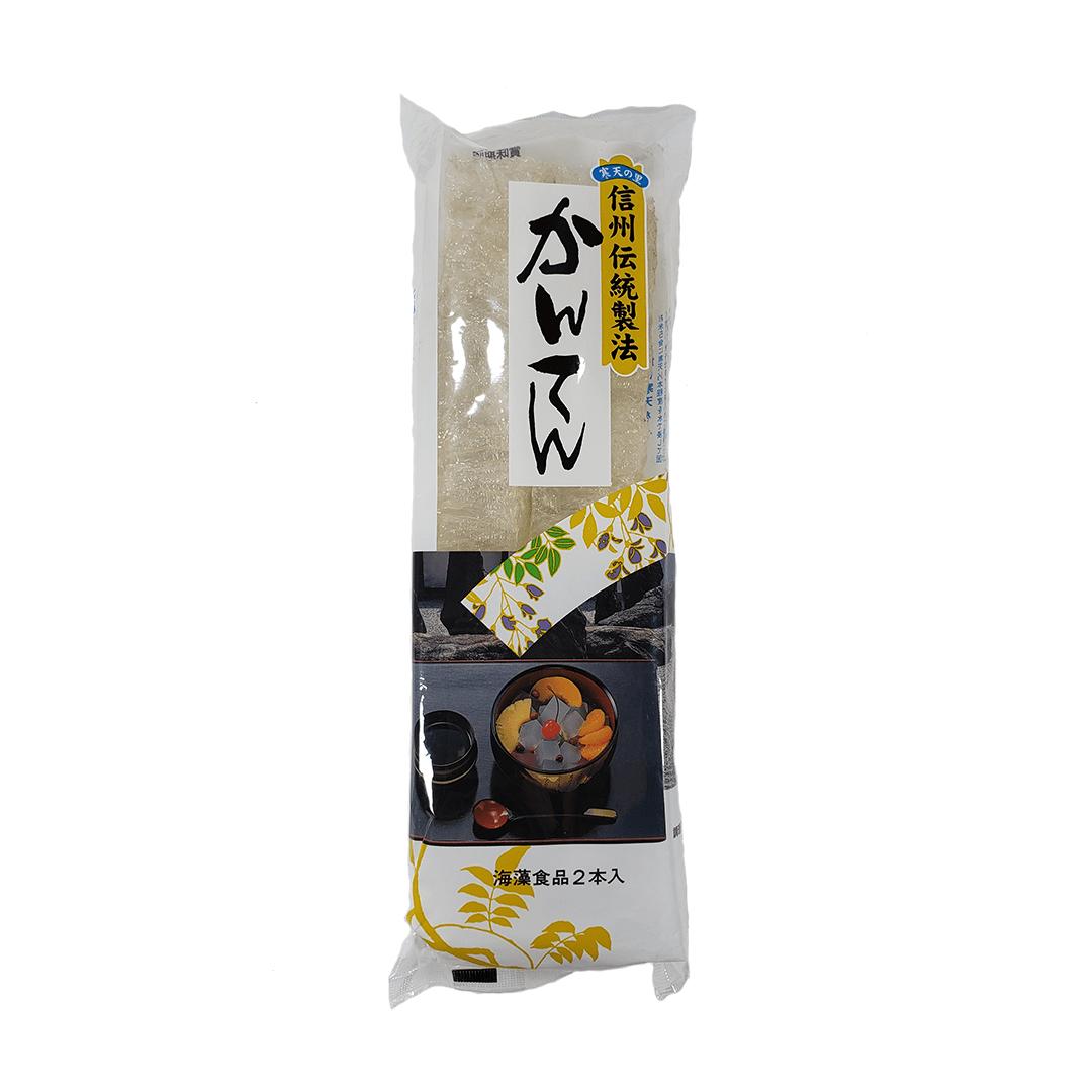 Gelatina de Algas Kanten Agar Agar Branco Japonês Matsuki 16g