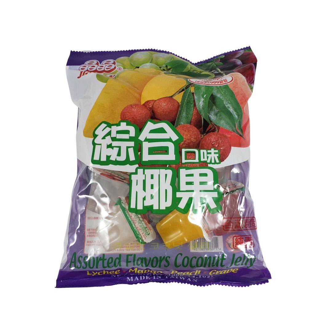 Gelatina de Coco sabor Frutas Sortidas Jin Jin 400g