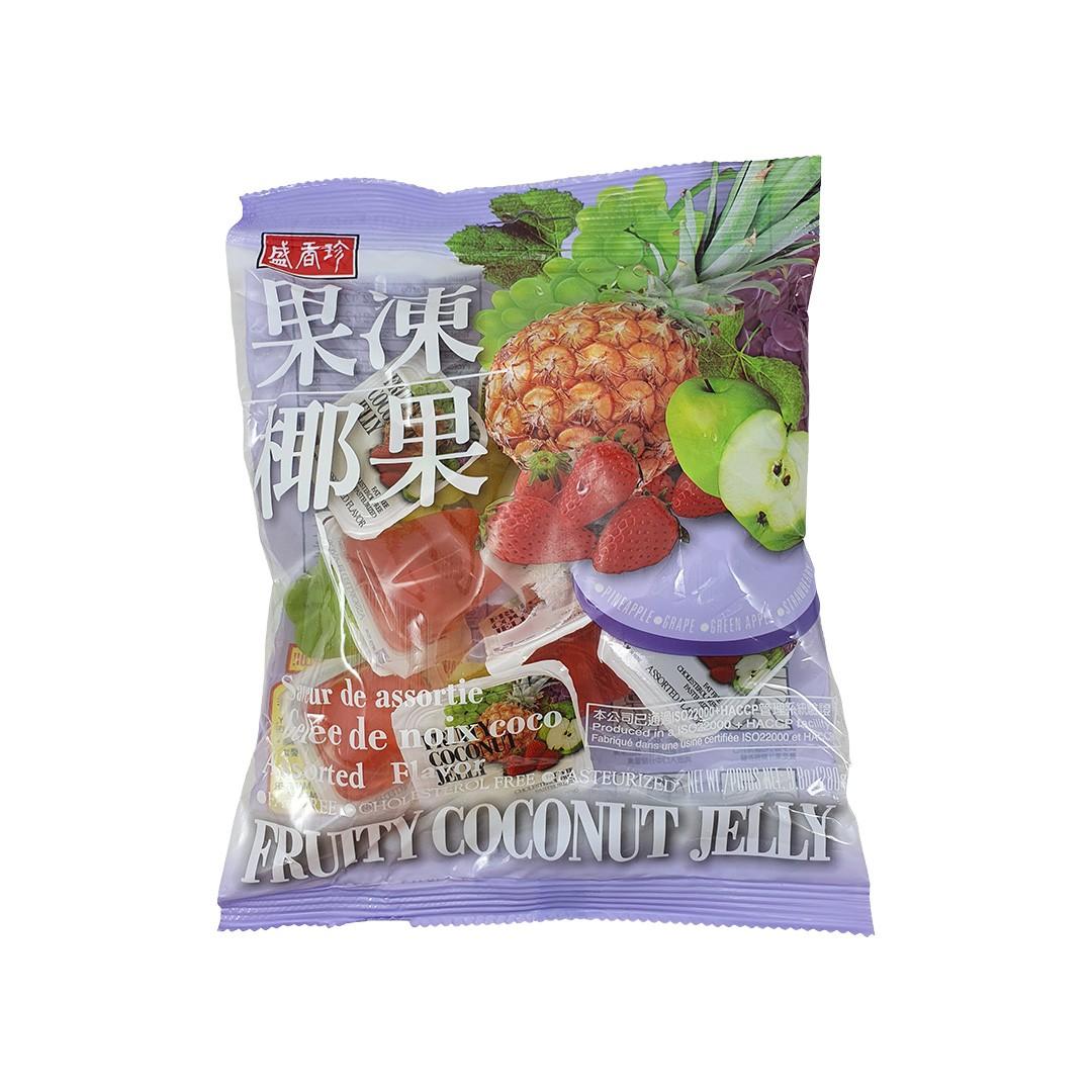 Gelatina de Coco sabor Frutas Sortidas Triko Foods 280g