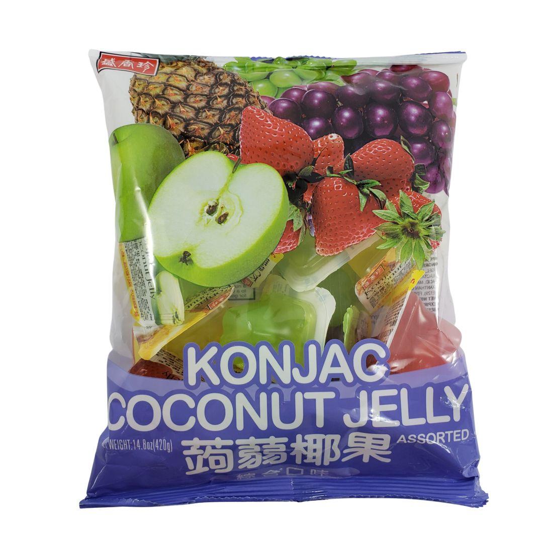 Gelatina de Coco sabor Frutas Sortidas Triko Foods 420g
