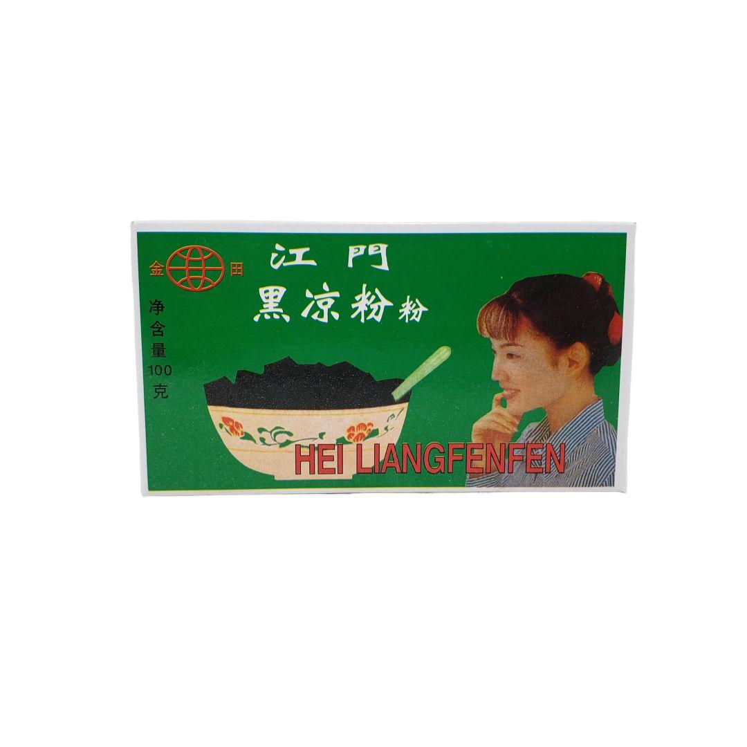 Gelatina Preta de Alga em Pó Hei Liangfenfen Jintian 100g
