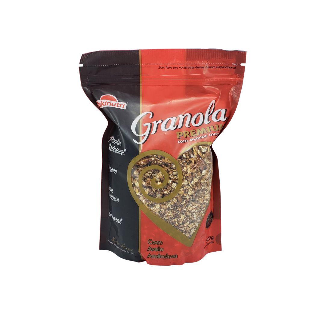 Granola Premium com Açúcar Mascavo Takinutri 500g