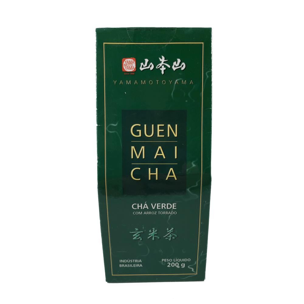 Chá Verde Guenmaicha Yamamotoyama 200g