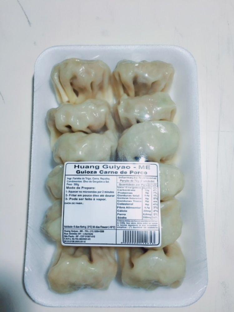 Guioza de Carne Suína Congelado