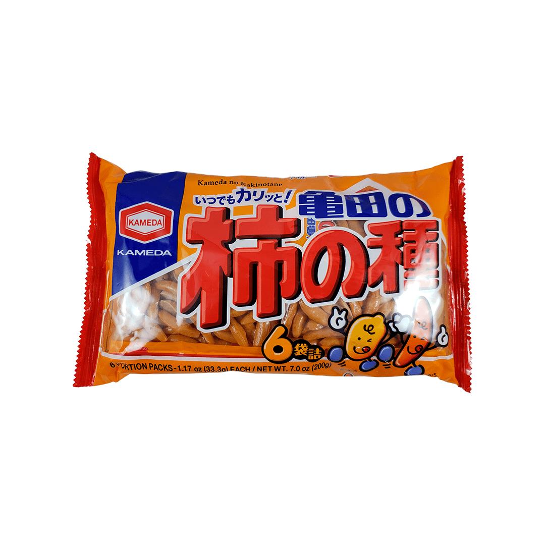Kakinotane Salgadinho de Arroz e Amendoim Apimentado Japonês 6P 200g