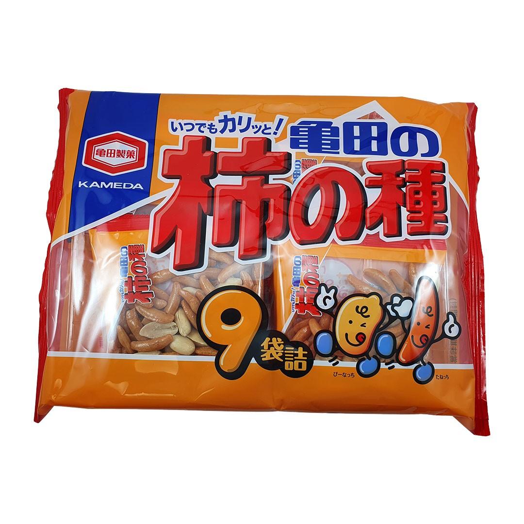 Kakinotane Salgadinho de Arroz e Amendoim Apimentado Japonês 9P 265g