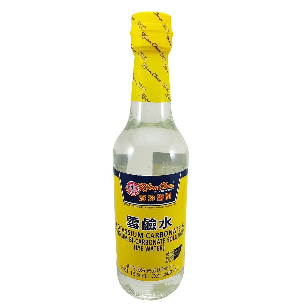 Kansui Solução de Carbonato de Potássio e Bicarbonato de Sódio Koon Chun 500ml