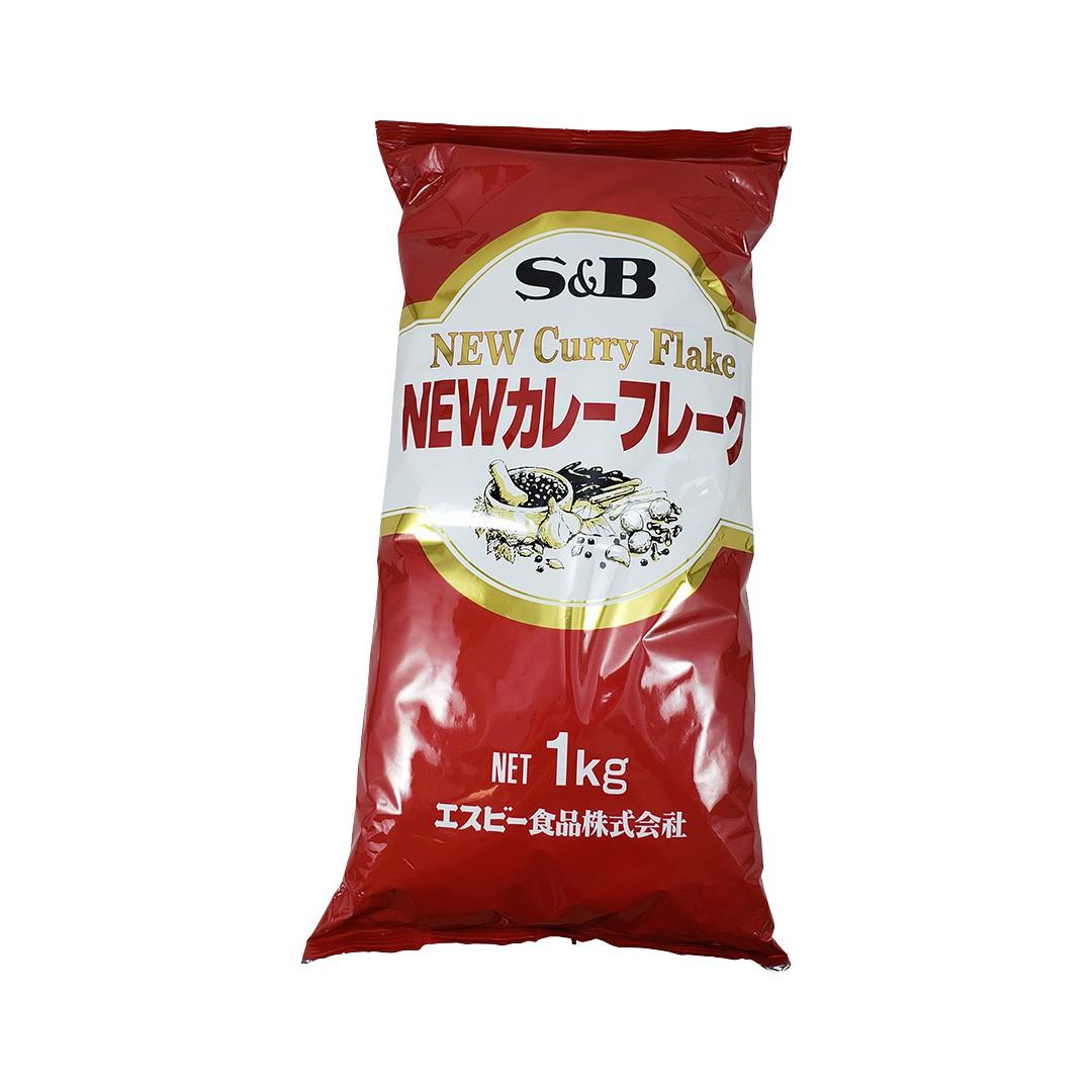 Karê Japonês em Flocos S&B New Curry Flake 1Kg