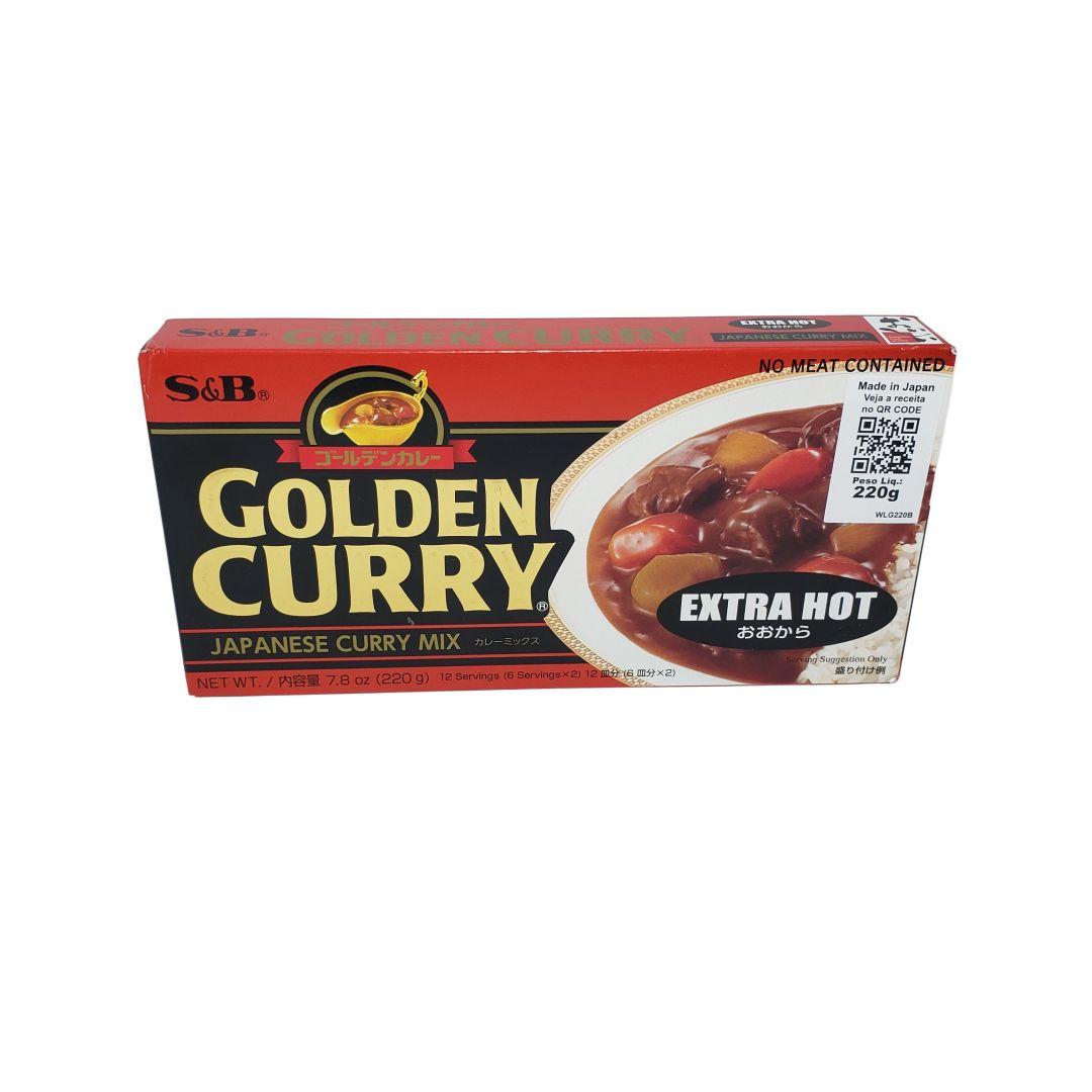 Karê Japonês Golden Curry Extra Forte Ookara S&B 220g