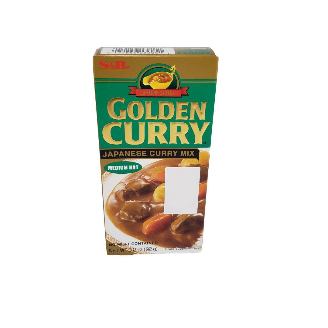 Karê Japonês Golden Curry Médio Chukara S&B 92g