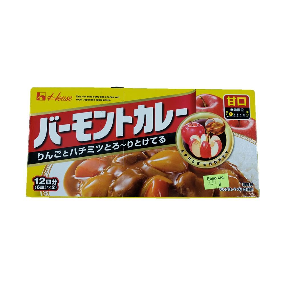 Karê Japonês House Vermont Curry Suave Amakuchi 230g