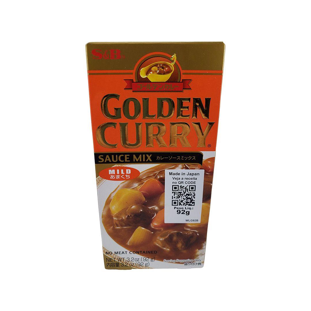 Karê Japonês Golden Curry Suave Amakuchi S&B 92g