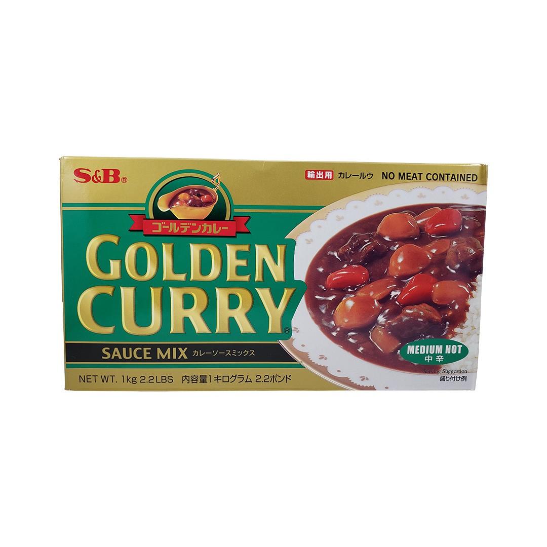 Karê Japonês Golden Curry Médio Chukara S&B 1Kg