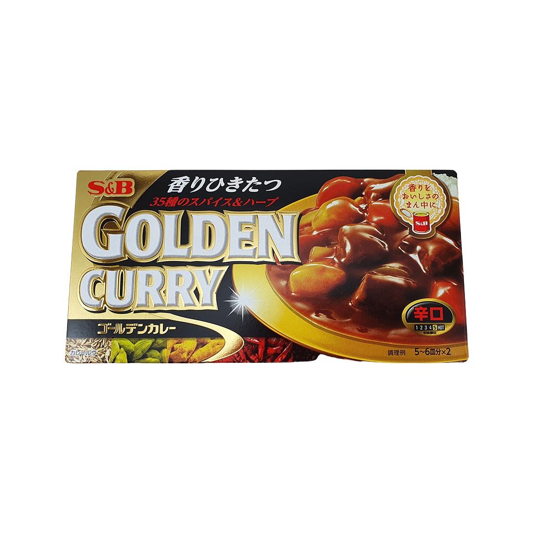 Karê Japonês Golden Curry Forte Karakuchi S&B 198g