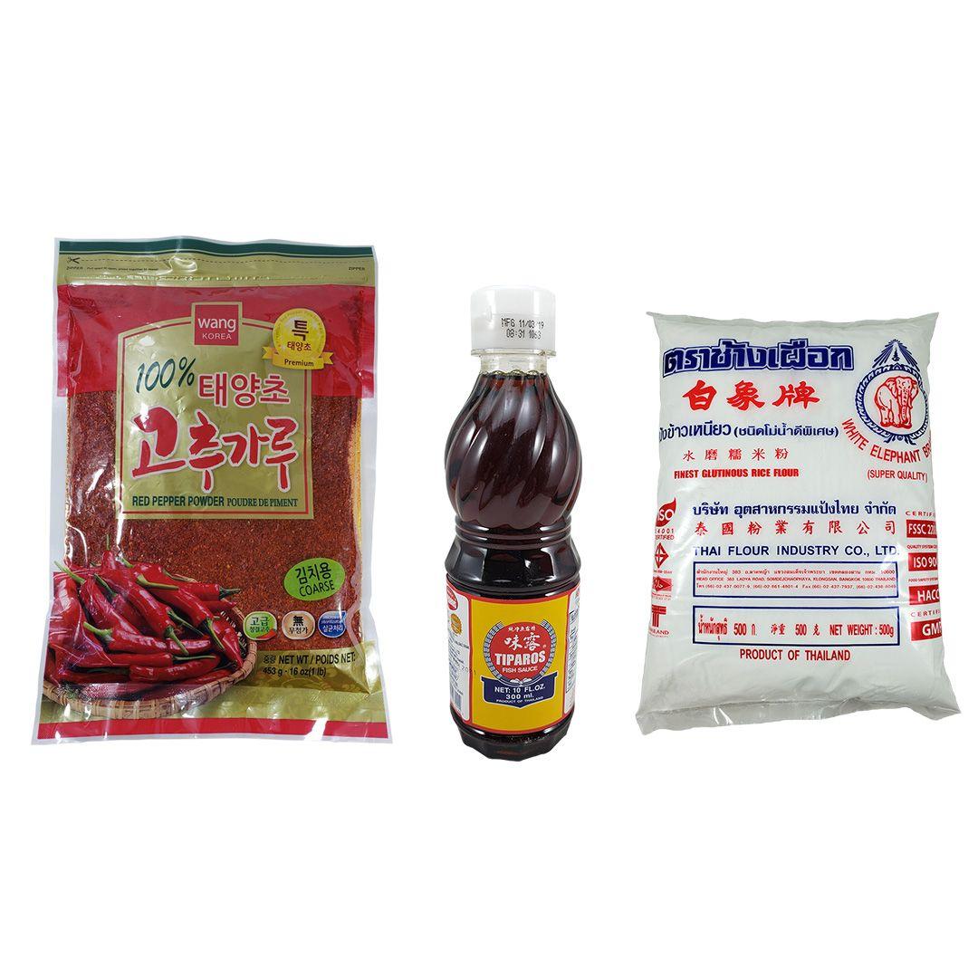 Kit para Kimchi com Pimenta 453g