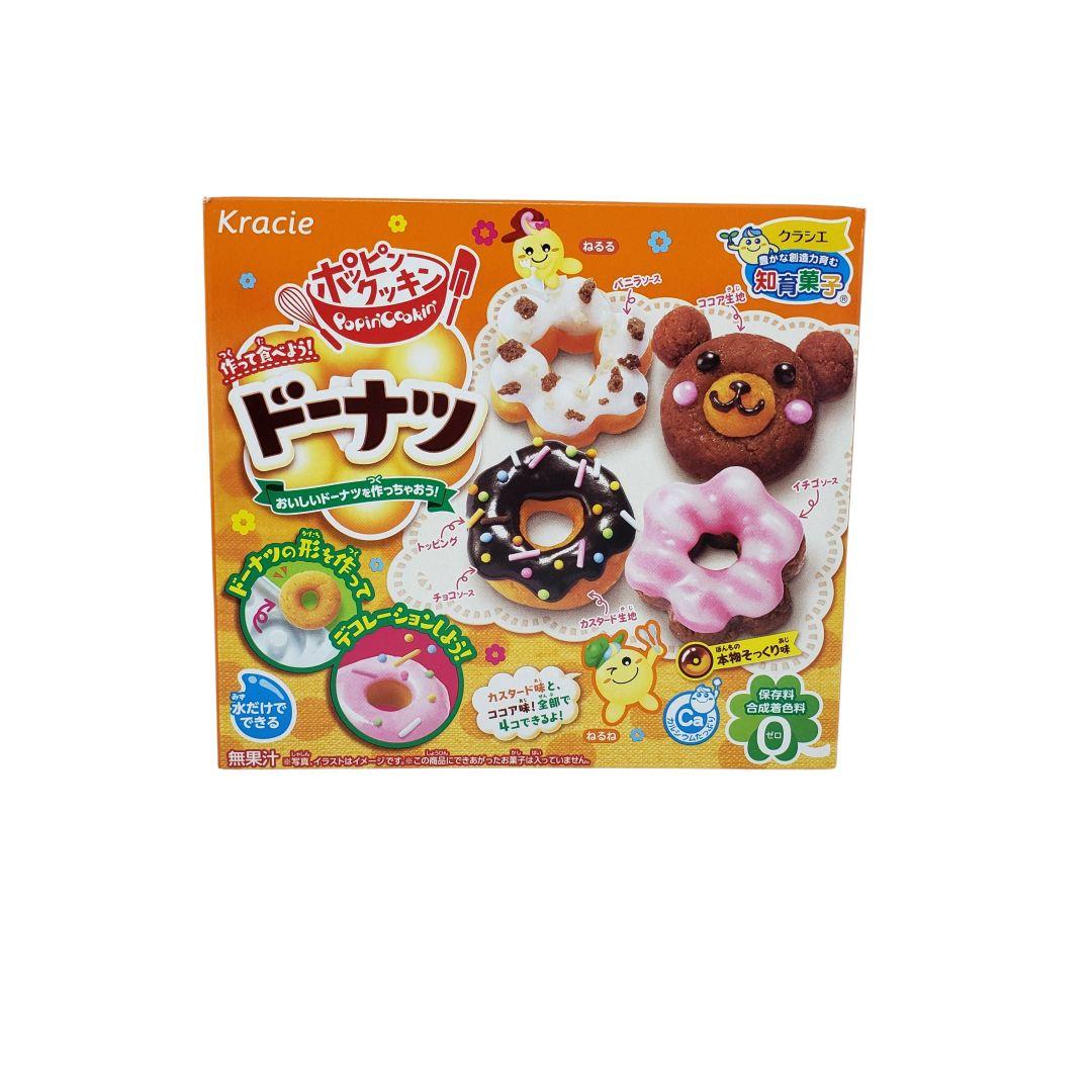 Kit para Preparo de Doces Infantil Popin Cookin Donuts Kracie