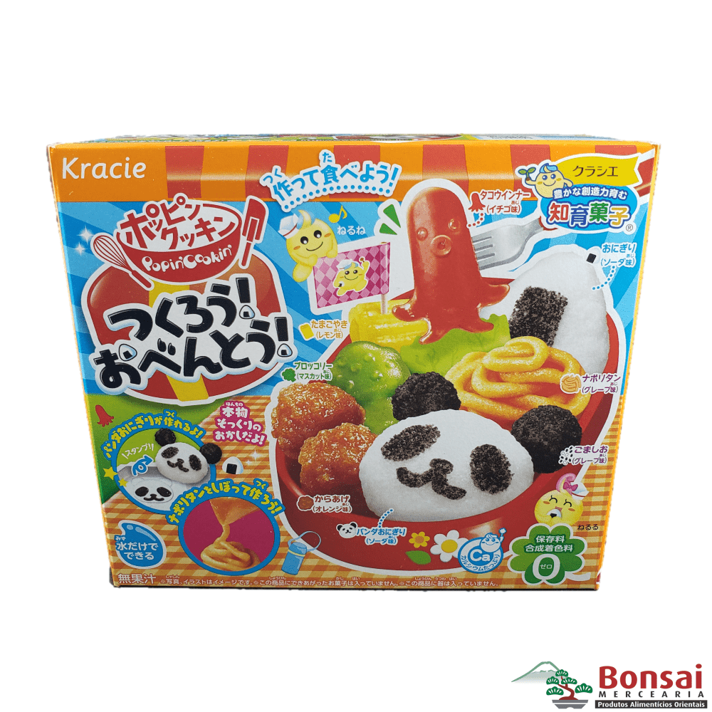 Kit para Preparo de Doces Infantil Popin Cookin Kracie Tsukuro Obento