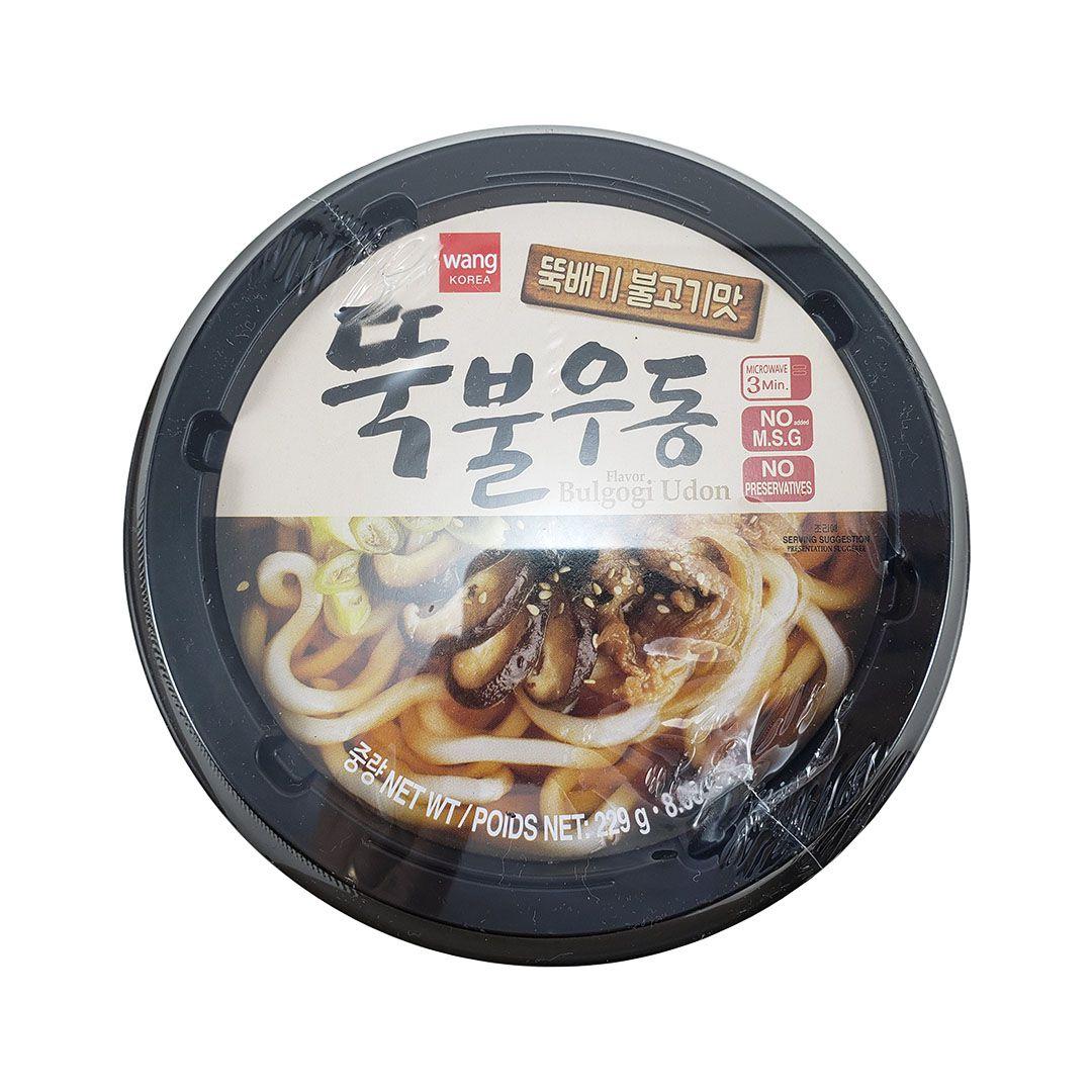 Lamen Coreano Bulgogi Udon sabor Carne Wang Bowl 229g