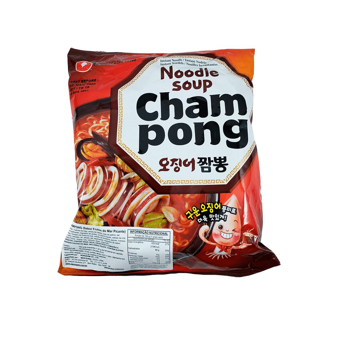 Lamen Coreano Champong Frutos do Mar Picante