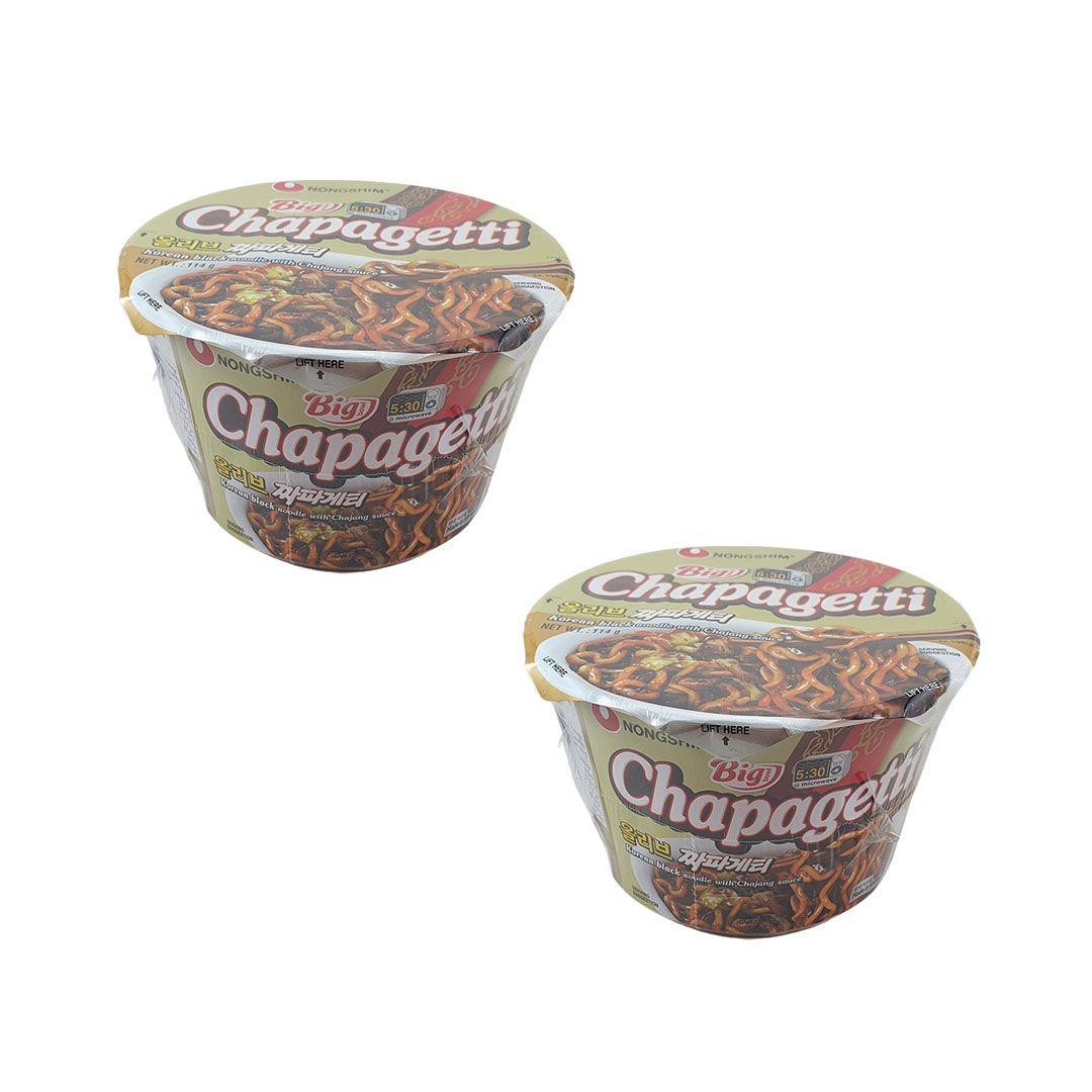 Lamen Coreano Chapaghetti Big Bowl Kit 2 unidades