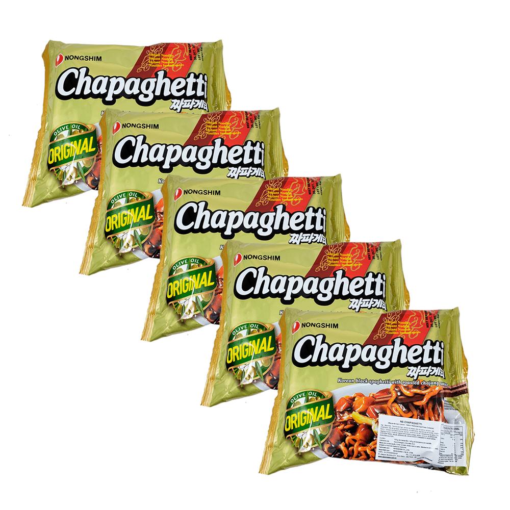 Lamen Coreano Chapaghetti Kit com 5