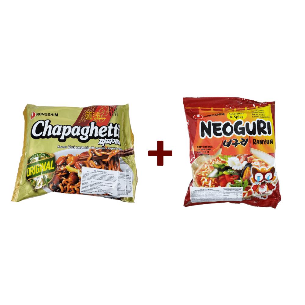Lamen Coreano Chapaguri (Kit Chapaghetti + Neoguri)