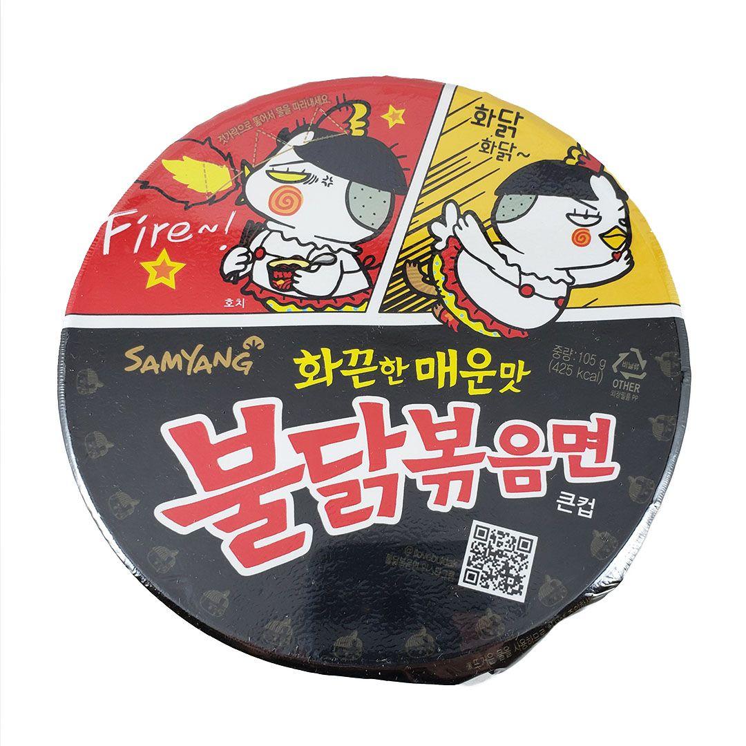 Lamen Coreano Frango Picante Hot Chicken Ramen Big Bowl 105g