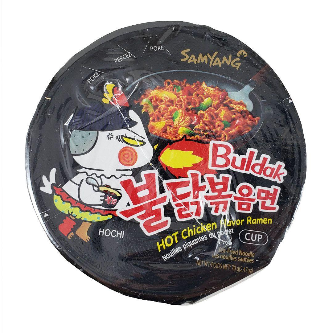 Lamen Coreano Frango Picante Hot Chicken Ramen Buldak Cup 70g