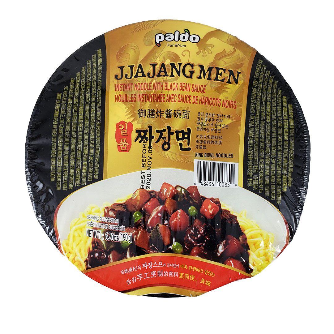 Lamen Coreano Jjajangmen Chajang Paldo Bowl 190g