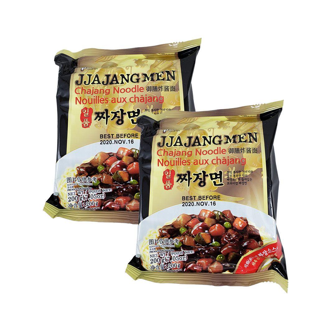 Lamen Coreano Jjajangmen Chajang Paldo Kit 2 Unidades