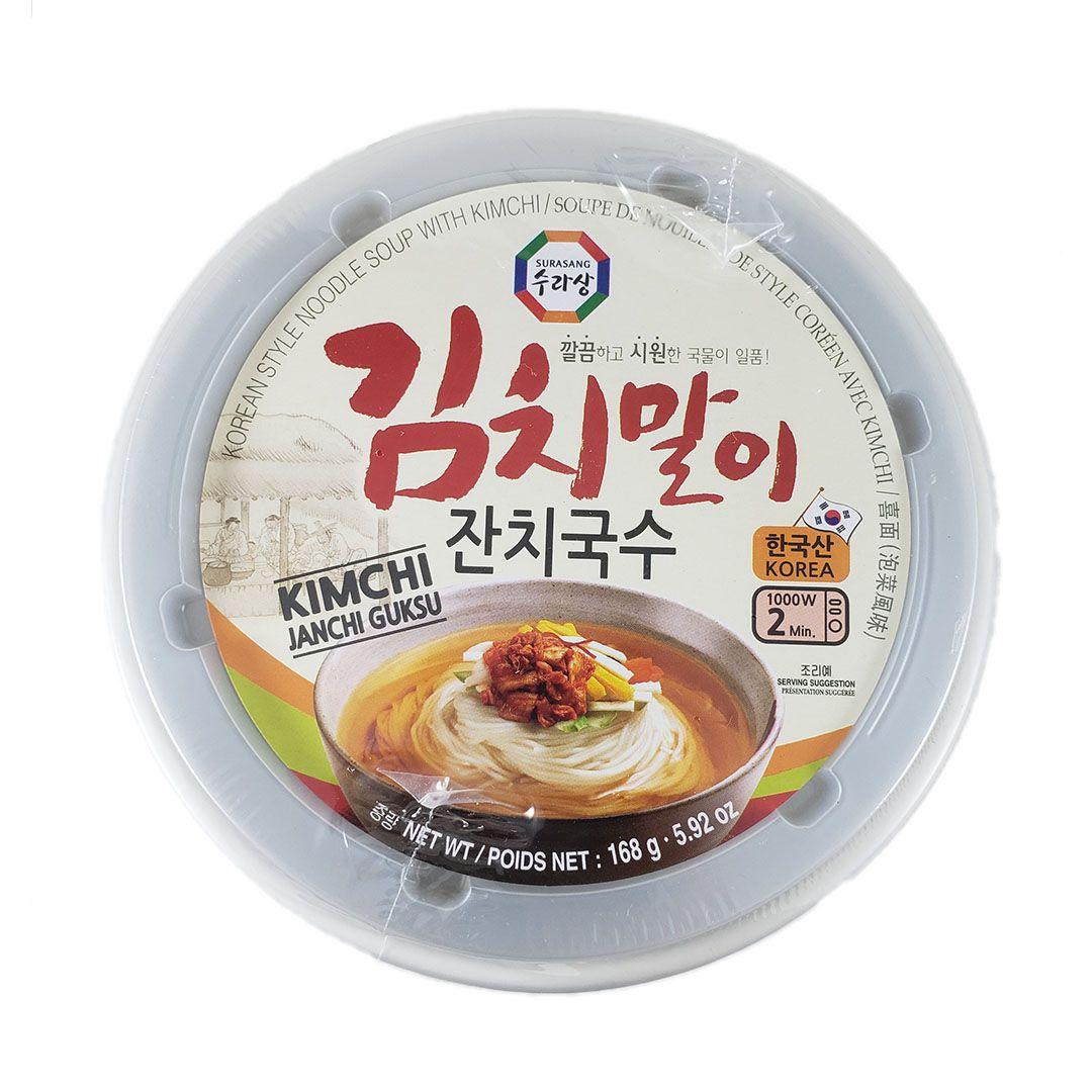 Lamen Coreano Kimchi Janchi Guksu Surasang Bowl 168g