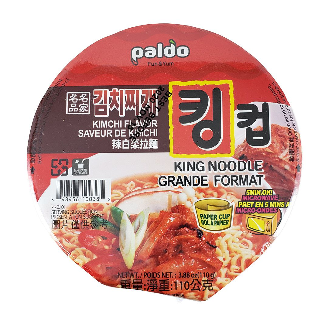 Lamen Coreano Kimchi Paldo King Cup 110g