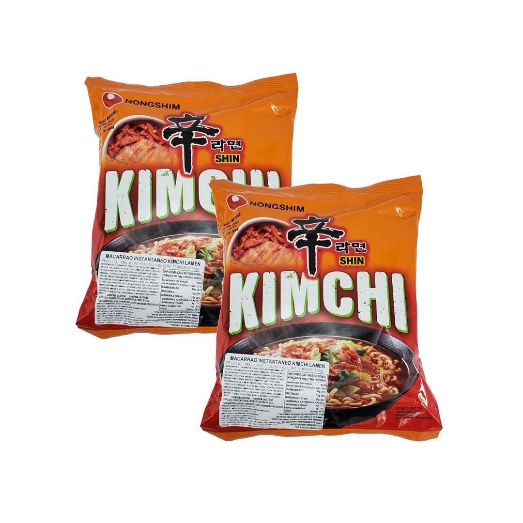 Lamen Coreano Kimchi Ramyum 2 unid
