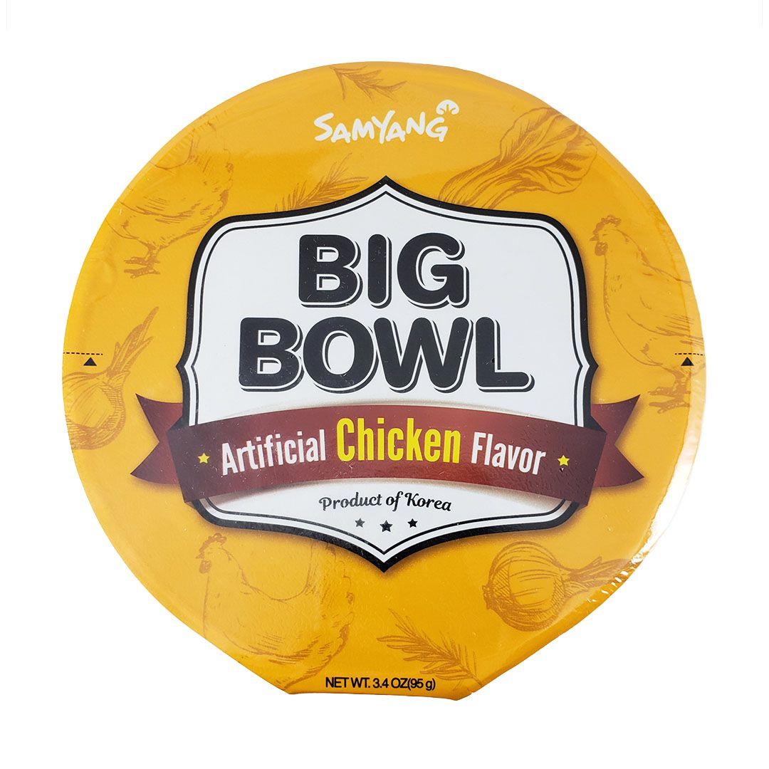 Lamen Coreano Picante sabor Frango Big Bowl Samyang 95g