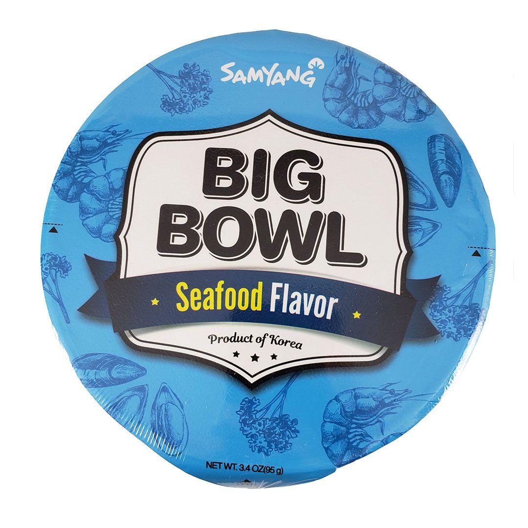 Lamen Coreano Picante sabor Frutos do Mar Big Bowl Samyang 95g