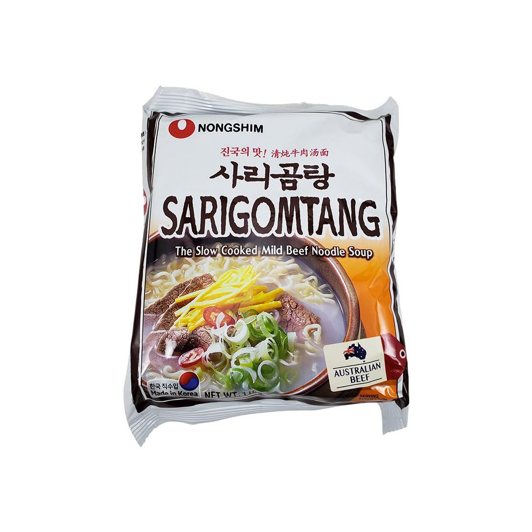 Lamen Coreano Sarigomtang sabor Carne Nongshim 110g
