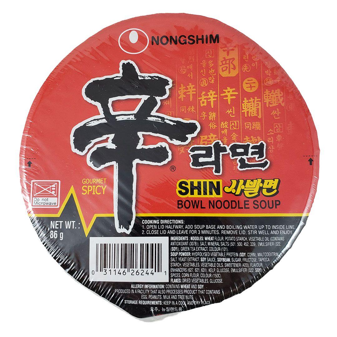 Lamen Coreano Shin Ramyun Cup 86g